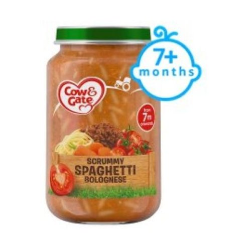 Cow & Gate 7Mths SpagBolognese Jar (6 x 200g)