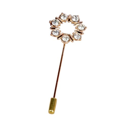 Exquisite Fashion Lapel Stick Brooch Pin for Suit Men Stick Pin for Prom, #01