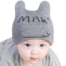 Baby Boys Girls Keep Warm Head Cap New Born Baby Winter Hats Soft Hat-A4