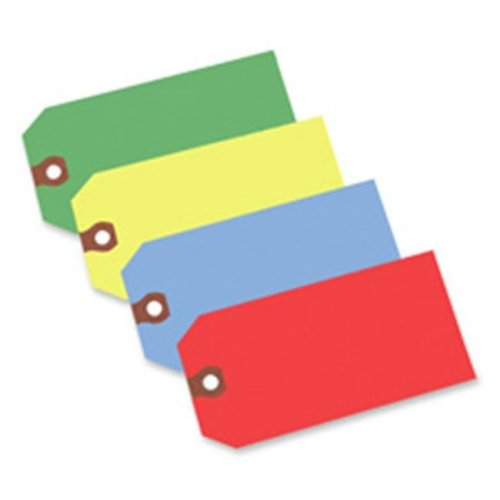 Avery Consumer Products AVE12345 Shipping Tag- No 5- Plain- 4-.75in.x2-.38in.- Red