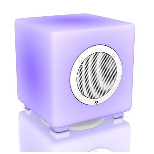 KitSound Glow Wireless Bluetooth Speaker With Remote Control and Configurable Light Display Compatible with iPhone, iPad, iPod, Samsung and Android...