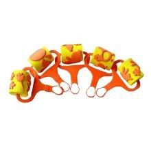 EVA Sponge Painting Brushes Rollers Set for Kids 5 Pcs