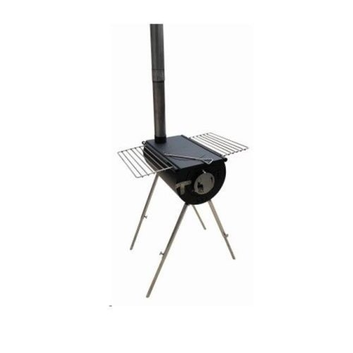 US Stove 248053 14 in. Tent Heater Outfitter Black Steel Camp Backpacker Stove