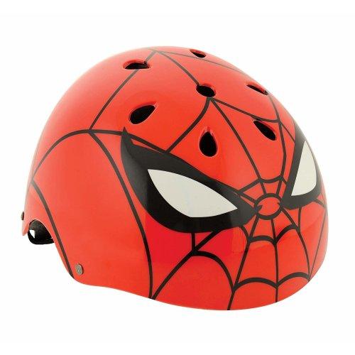 Spiderman Boys Ramp Style Helmet Safety 54-58cm