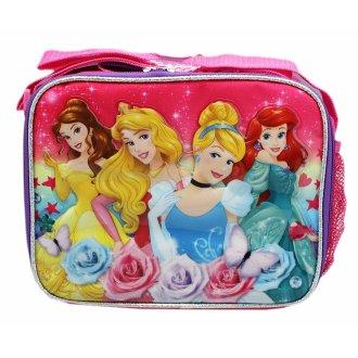 Lunch Bag - Disney - Princess Belle Ariel Cinderella Aurora New 653460