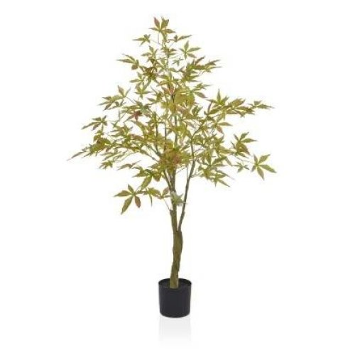 Artificial Silk Maple Tree - 120cm, Green