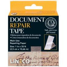 "Lineco Self-Adhesive Document Repair Tape-Transparent 1""X35'"