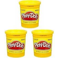 (3 Pack) Yellow (23869) Hasbro Play-Doh 5 oz. (15 oz. total)