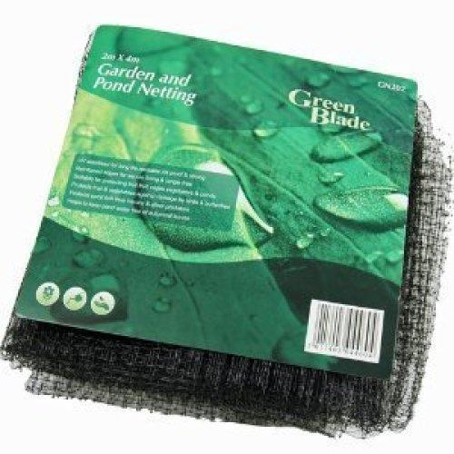 Green Blade Gn202 Black Garden & Pond Netting - 2m x 4m - 1cm Mesh -  garden pond netting mesh green blade black 2m x 4m 1cm gn202