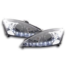 Daylight headlight  Ford Focus Year 01-04 chrome