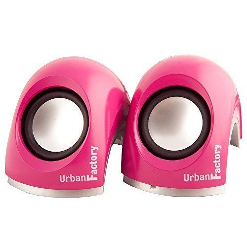 Urban Factory 2 0 Crazy Mini Speakers Pink MSP06UF