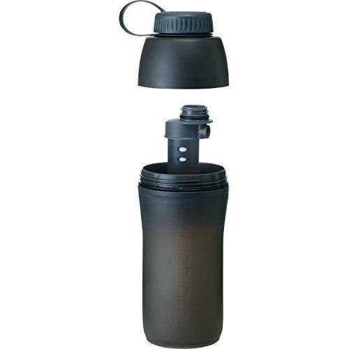 Platypus Meta Water Bottle Plus Microfilter 1 Liter Slate Gray