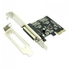 PCI-Express x1 1 Port Parallel Card - Low Profile