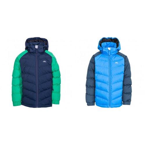 Trespass Childrens Boys Sidespin Waterproof Padded Jacket