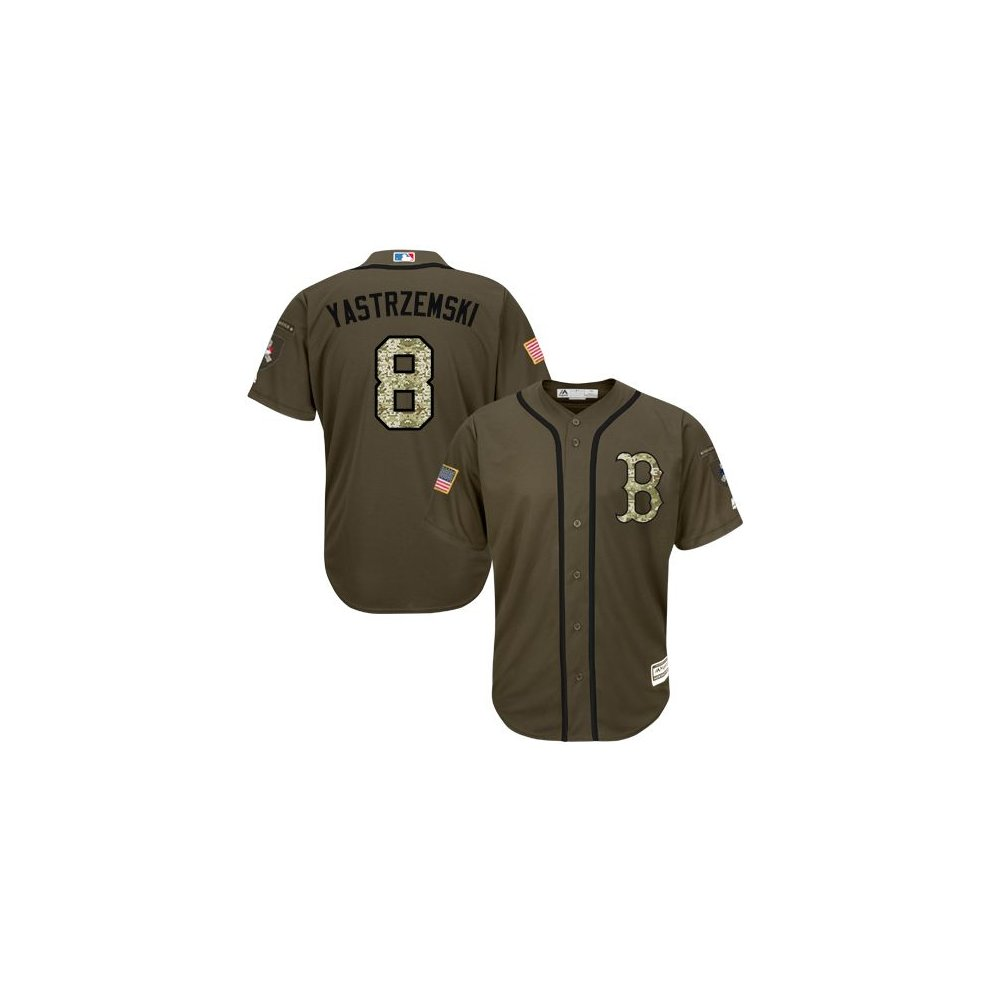 sale retailer d847d def1d Boston Red Sox Cool Base MLB Custom Salute To Service Jersey ...