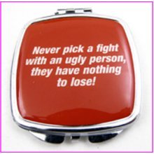 Pick A Fight Compact Mirror