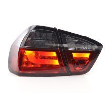 Led Taillights BMW serie 3 E90 saloon Year 05-08 red/black