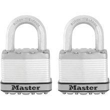 Master Lock Padlock Excell 2 pcs 52 mm M5EURT