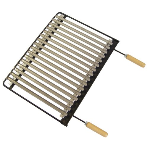 Imex The Fox 71621–BBQ Grill, Stainless Steel, 71x 41cm