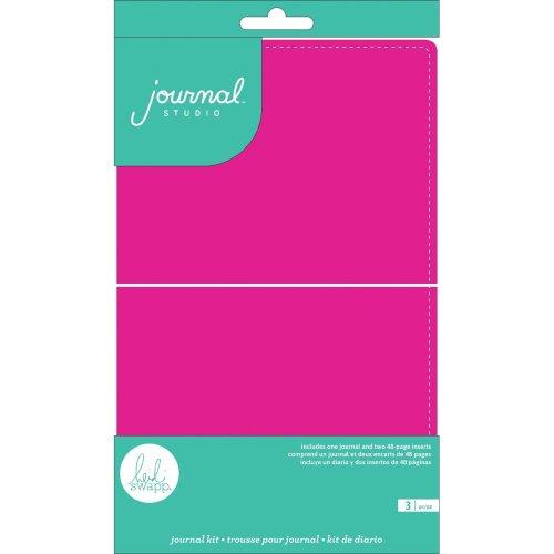 American Crafts Journal Studio Kit-Hot Pink By Heidi Swapp