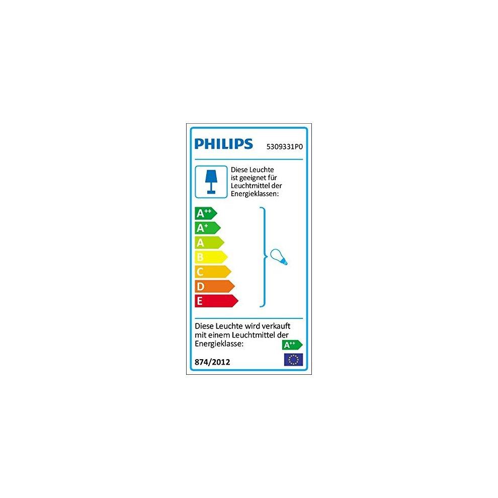 Philips MyLiving Runner 3FLG  LED Spotlight 690LM 5309331P0, White Metal,  3 5Â WATTS, 9Â x 48Â x 10 9Â cm