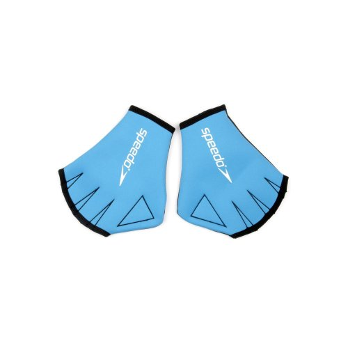 Speedo Unisex Adult Aqua Glove, Blue, Large
