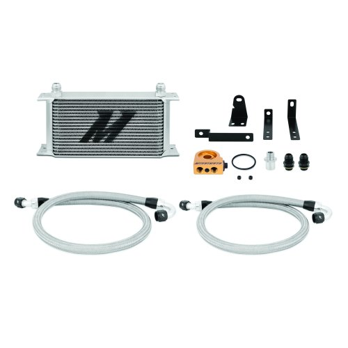 Mishimoto Honda S2000 Oil Cooler Kit, 2000-2009, Silver Thermostatic
