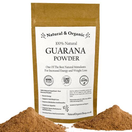 Natural & Organic - GUARANA Powder - 100% Natural