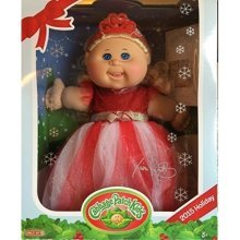 Cabbage Patch Kids 2015 Holiday Exclusive  Blue Eyes, Blonde Hair, Red Dress