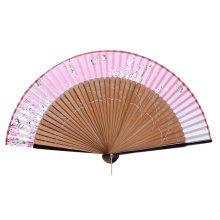 Elegant Hand Fan Portable Folding Fan Carved Handheld Fan Chinese Fans #12