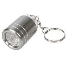 Trixes Bright Mini Led Torch Keyring with 6 Led Lights
