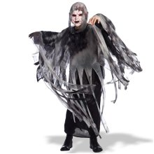 Cape With Hood Ghost 130cm