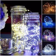 2M 20 LED Battery Operated Fairy Lights