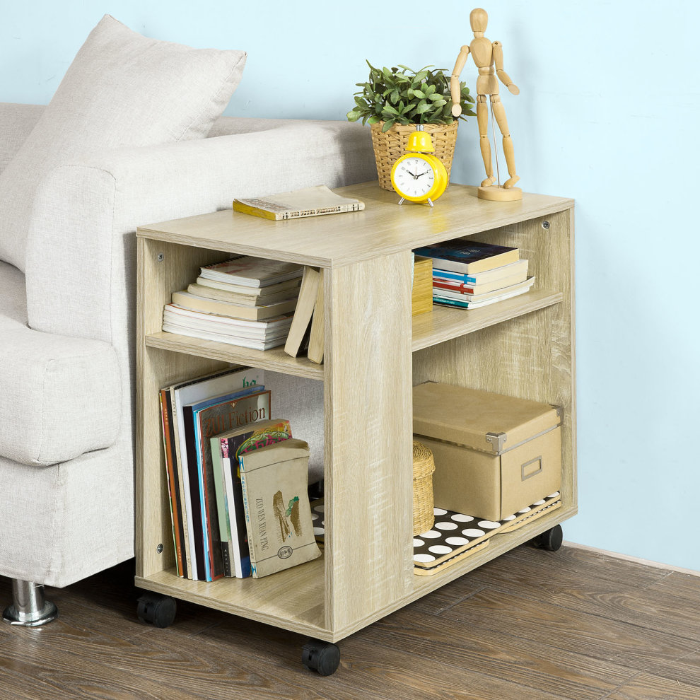 sobuy fbt34 n side table end table coffee table with storage rh onbuy com side table 3 shelves side table 3 shelves