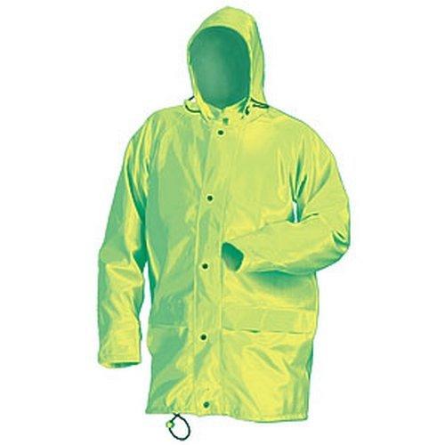 Click SBDJSYL Waterproof Jacket With Concealed Hood Saturn Yellow Large
