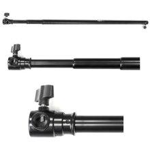 Phot-R 3 m Adjustable Portable Heavy Duty Telescopic Extendable Crossbar - Black
