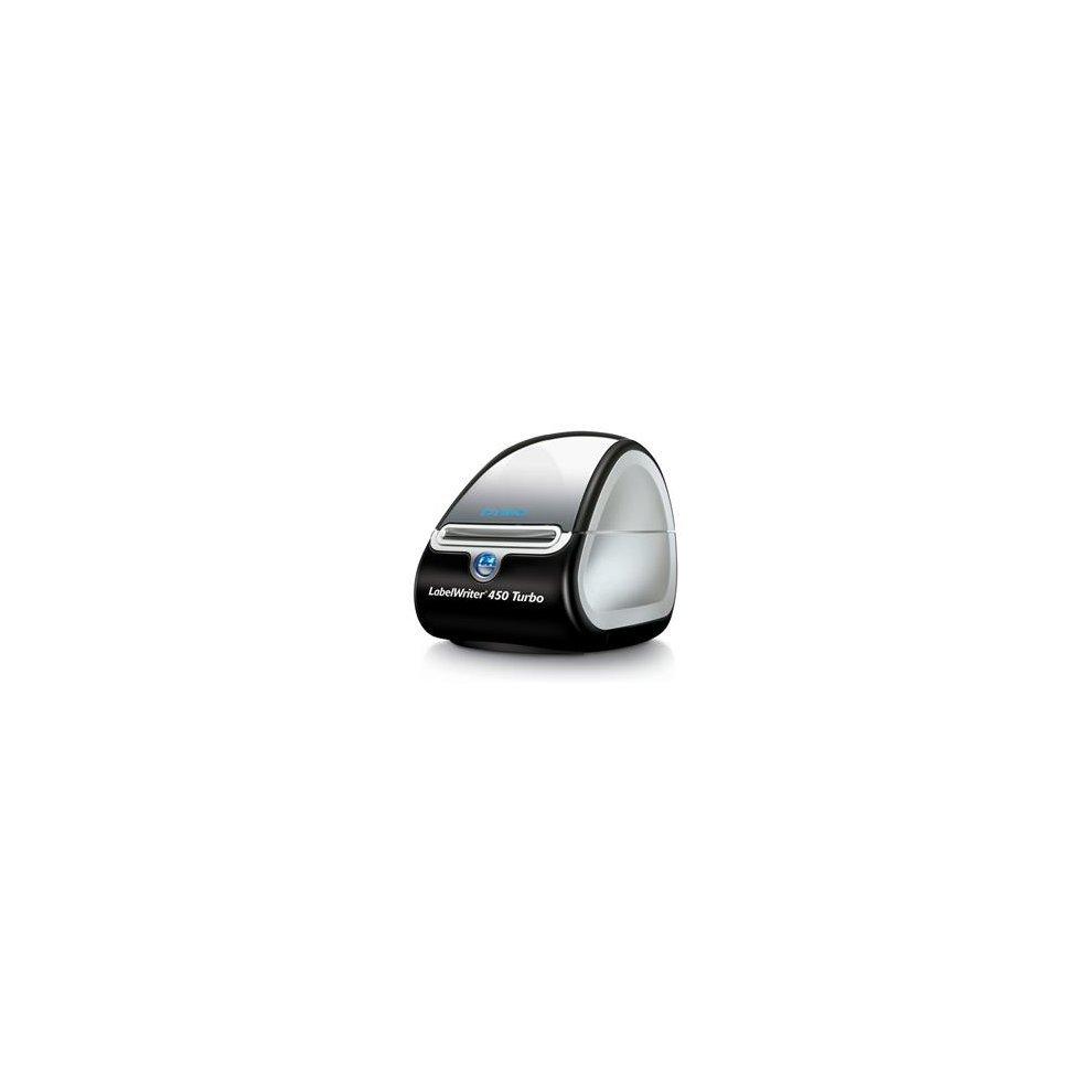 DYMO LabelWriter 450 Turbo Direct thermal 600 x 300DPI Black,Silver label  printer