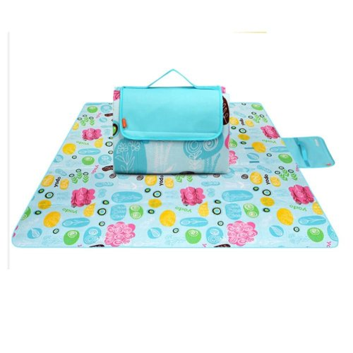 Extra Large Picnic Blanket with Water Proof Portable Beach Blankets 79*79 inch