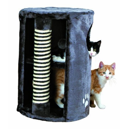 Trixie Anthracite Cat Tower, 58cm - Tower 58cm New -  cat tower trixie anthracite 58 cm new