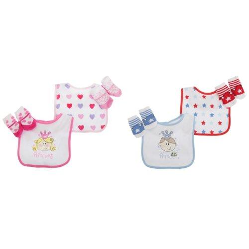 Baby Boys/Girls Little Prince/Princess 4 Piece Gift Set