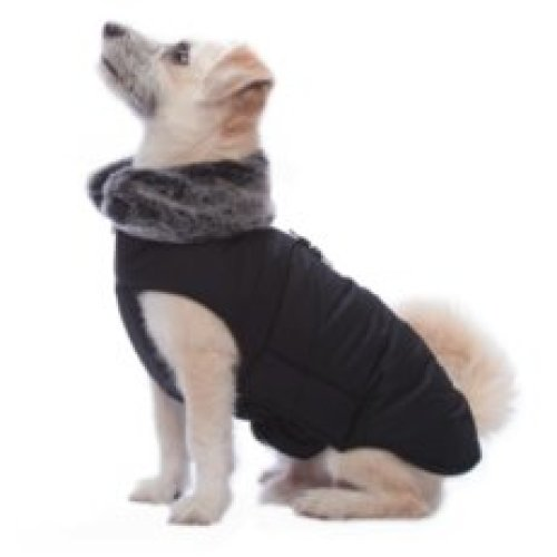 Dog Gone Smart Tamarack Coat Black 16''