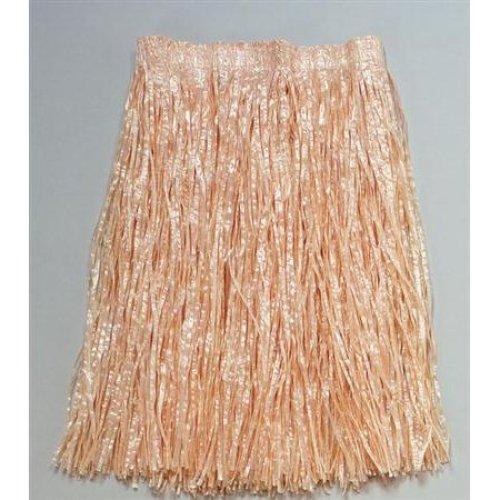 Plain Adults Grass Hawaain Skirt - Fancy Dress Adult Hawaiian Budget -  grass skirt fancy dress adult hawaiian plain budget