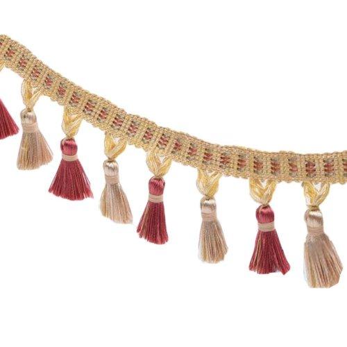 DIY Handmade Tassel Sewing Colorful Decoration Accessories (3.28 Feet) #5
