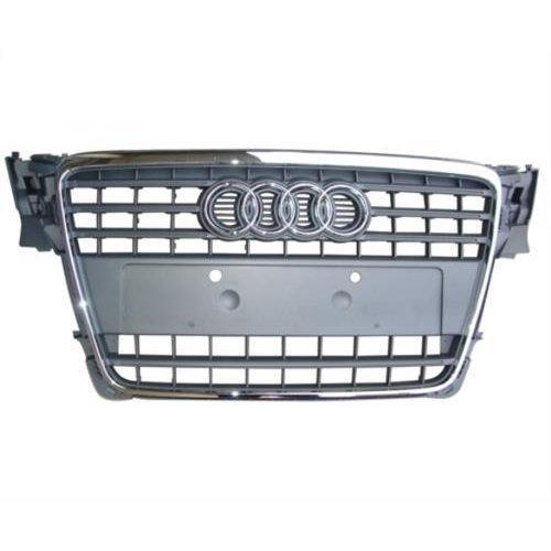 Audi A4 Estate  2008-2012 Front Grille Grey (Standard Models)