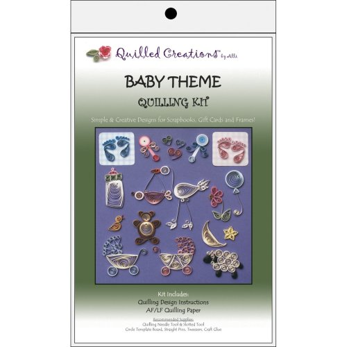 Quilled Creations Quilling Kit-Baby