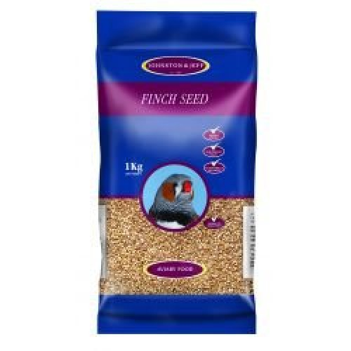 Johnston & Jeff Foreign Finch Seed (4 pack), 4 x 1kg