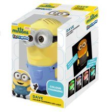 Minions Illumi-mate Dave Colour Changing Light - LED New Illumimates Despicable -  light changing colour dave minions led new illumimates despicable