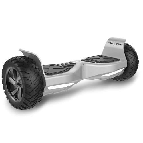 CW Self Balancing Scooter SUV 8.5 All-Weather Tire Hover Through Tough Road Condition Bluetooth APP