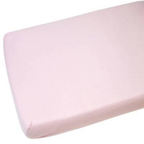 4x Fitted Sheets Compatible With Chicco Next 2 Me 100% Cotton-Pink