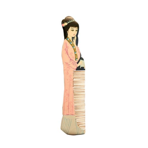Natural Wooden Comb/Best Choice Of Gift Giving/Chinese Style(Lin DaiYu)